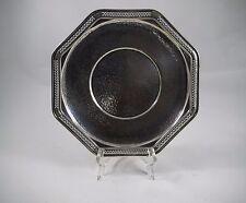 Vintage Silver Octagonal Plate Platter