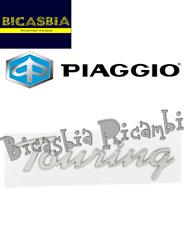 657584 ORIGINALE PIAGGIO TARGHETTA BAULETTO TOURING ADESIVA VESPA 50 125 150 LX