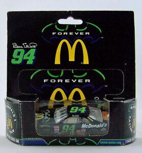 1995 Action Racing Collectables 1:64 BILL ELLIOTT #94 McDonald's Thunderbat Ford