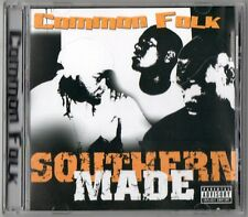 COMMON FOLK Southern Made CD Tennessee Rap Down South G-Funk 5ive Ft Giant