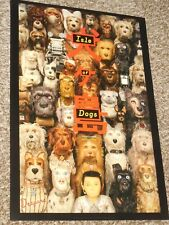 "Isle of Dogs ""A"" ex 13.5x20 Promo Movie POSTER"