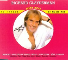 RICHARD CLAYDERMAN - Mini Best 10TR CD PIANO / EASY LISTENING