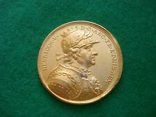 Henry V DASSIER CROWN SIZE GILT MEDAL BY THE LONDON MINT