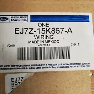 Lincoln FORD OEM 15-16 MKC Front Bumper Grille Grill-Wire Harness EJ7Z15K867A