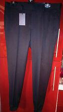 Men's Topman Lux Black Piped Flannel Ankle Grazer Trousers Size 34R £50 BNWT