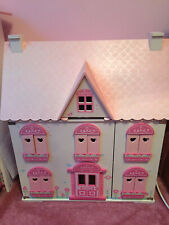 USED ELC Rosebud Village Doll's House and complete sets #Toys