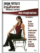 Susan Tuttle's In Home Fitness: Chair Strength and Tone for Se (2014, DVD NIEUW)