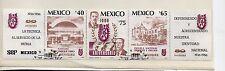 Mexico L Aniversario Escuela Nacional Artes y Oficios serie año 1986 (DD-401)
