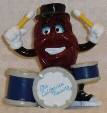 "California Raisins, Drummer, by Applause, New in the Package, 1988, PVC, 3"" Tall"