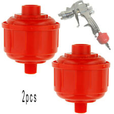 Red Universal Car DISPOSABLE Auto Paint Spray Gun AIR Water FILTER-Water Trap(Fits: More than one vehicle)