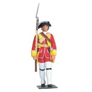 William Britain Redcoats & Bluecoats British Private 15th Regiment of Foot 43146