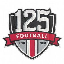 "OHIO STATE BUCKEYES 125 YEARS FOOTBALL 1890 TO 2014 10""X11'' WOOD SIGN WINCRAFT"