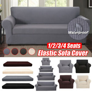 L shape corner sofa needs to purchase two sofa covers FREEMY Sofa Cover Universal Elastic Velvet Sofa Cover Suitable for All Sofas with Armrests