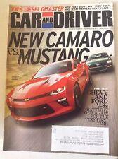Car And Driver Magazine New Camaro Vs Mustang December 2015 051117nonrh2