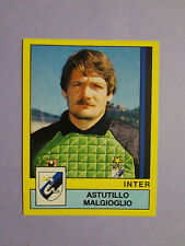 FIGURINA PANINI CALCIATORI STICKERS INTER N.136 MALGIOGLIO 1988-89  NEW-FIO