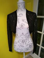 Lindy Bop Black Lace Shrug Size 20-22