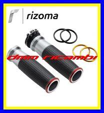 Manopole RIZOMA Urlo YAMAHA T-MAX 530 17 ABS SX DX 2017 grigio alluminio GRX221