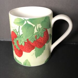 Strawberry Coffee Mug Fruit Al Fresco Tall Mugs Corelle Coordinates
