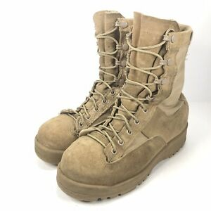 Belleville Womens Size 4 W Wide Combat Boots Hot Weather Desert Tan