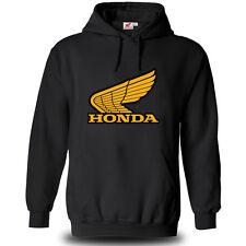 Genuine Honda Extreme Racing Biker CBR Superbike Steetwear Black Hooded Hoodie