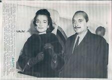 1964 Prince Stanislaw Radziwill With Princess Lee Bouvier Press Photo