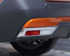 Chrome Accessories Rear Fog Light Lamp Cover Trim 2pcs For Nissan Kicks 16-19