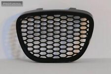 Front Black Badgeless grill without emblem For Seat Ibiza 6L 02-08