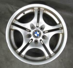 Bent BMW E36 E46 3-Series Factory 17x8.5 Rear M Double-Spoke Wheel Style 68 OEM