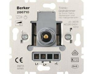 Berker Tronic-Drehdimmer 286710 Dreh-Dimmer passend f. Peha Gira Jung
