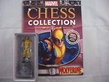 Eaglemoss Marvel estatuilla Ajedrez Colección Wolverine White Knight revista 3