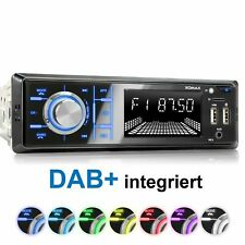 Autoradio Dab+ Rds AM/FM Bluetooth Freisprecheinrichtung Usb Sd Aux-In Mp3 1DIN
