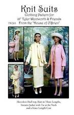 """TW203 Knit Suit Pattern for 16"""" Tyler and friends"""