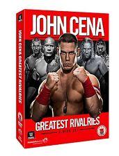 WWE John Cena - Greatest Rivalries [3x DVDs] Set NEU HBK The Rock, Edge DVD