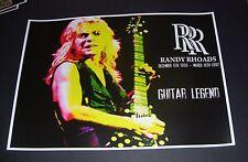 Randy Rhoads Guitar Legend Great New Tribute Poster Print A3 SIZE