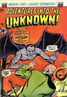Adventures Into the Unknown 45 Comic Book Cover Art Giclee Repro on Canvas