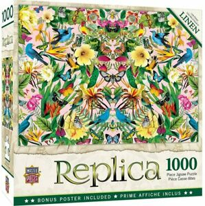 Masterpieces - Replica Blue Birds Jigsaw Puzzle (1000 Pieces)