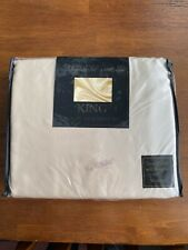 4PC Ivory Satin Sheets | Polyester | Size King