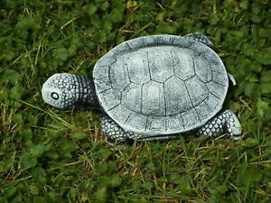 Latex mMould to make Garden Ornament Small Turtle Concrete Plaster New