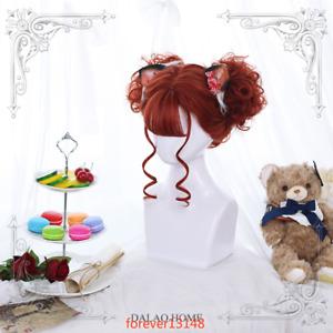 Japanese Cosplay Women's Long/Short Curly Hair Lolita Sweet Girl's Daily Wig