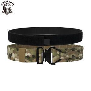 Tactical 2 Inch D Ring Rigger Belt Combat Quick Release Molle Military Mens Belt