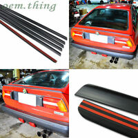 1984-1989 Fit FOR Alfa Romeo Sprint Facelift Coupe Rear Trunk Boot Lip Spoiler