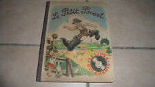 LE PETIT POUCET - le livre qui chante - édit barbe - 1949 - BE album animé