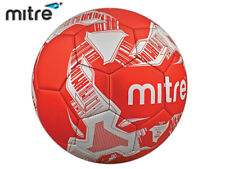 *CLEARANCE NEW* MITRE - FLARE TRAINING & KICK-ABOUT BALL - SIZE 5 - RED/SILVER
