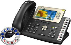 Yealink SIP-T38G Gigabit Colour IP Telephone - Inc Warranty - Free UK P&P