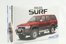 1991 Toyota Hilux 4 Runer Surf x Wide Body Kit 1:24 Aoshima 104