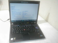 """Lenovo Thinkpad T60 Core Duo 1.83Ghz 15"""" ATI Laptop spares/repair. Incomplete V1"""