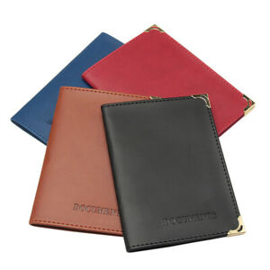 Pu Leather Drivers License Bag Cover Driving Documents Card Holder Purse Wallet