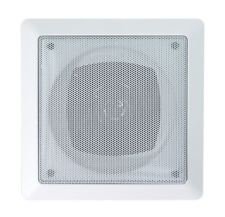 E-Audio Square Ceiling Speakers With Tweeter (Size 4 Inch Peak Power W 70)