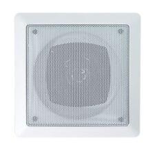 E-audio Carré Plafond Haut-parleurs avec Tweeter (taille 4 in (environ 10.16 cm) Puissance de crête W 70)