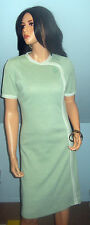 Vintage1960s~Mod~Puritan~Forever Young~Polyester~Shift~Dress~Jade~Green~SZ.M-L